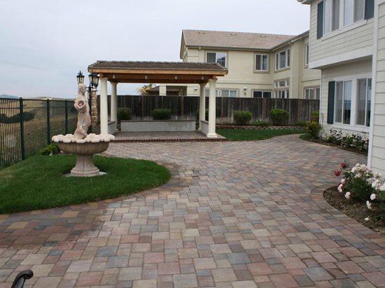 concrete paver patios the concrete