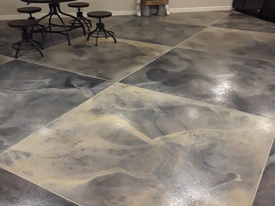 concrete faux finish techniques for