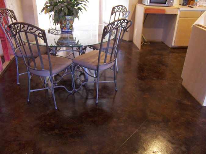 Photo Gallery Brown Floors Katy TX The Concrete Network