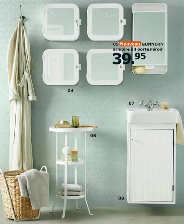 Ikea Armoire à Pharmacie 2 Portes Miroir