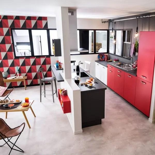 Cuisine Semi Ouverte Sur Salon Avec Bar Les Nouvelles Idees Cote Maison