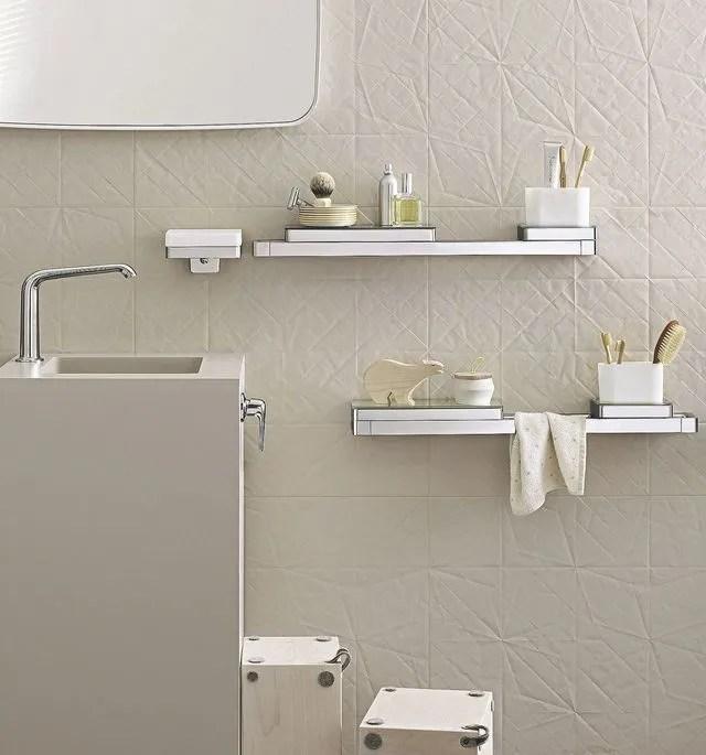 etagere murales pour la salle de bain