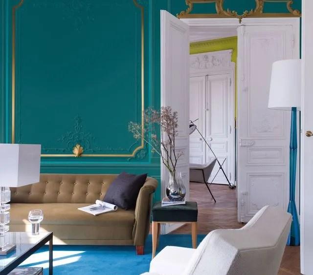 Relooker Son Salon Sa Maison Avec De La Peinture Couleur