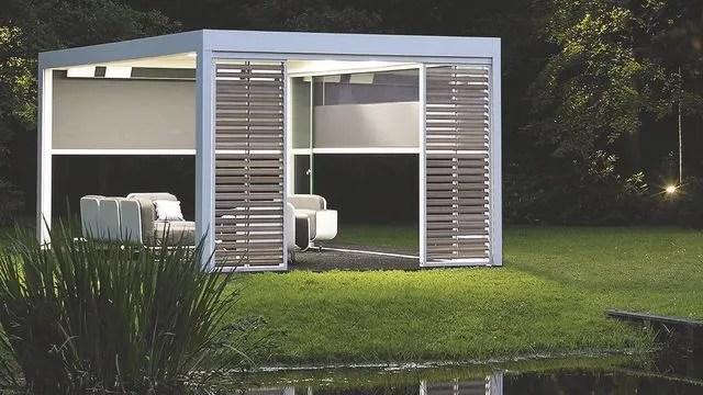 abris de jardin design en bois ou metal