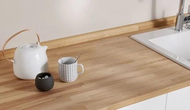 plan de travail en bois choix et
