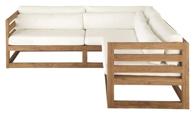meuble jardin 5 canapes en bois pour