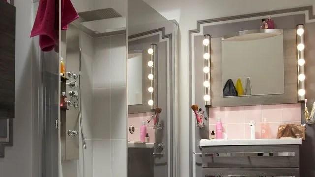 eclairage ideal maquillage salle de
