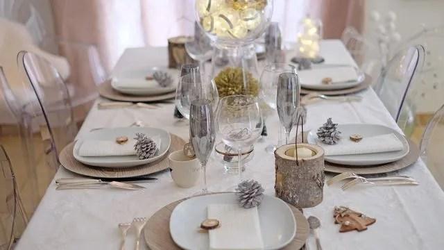 Faire Une Table De Nol Chic Et Simple Ct Maison