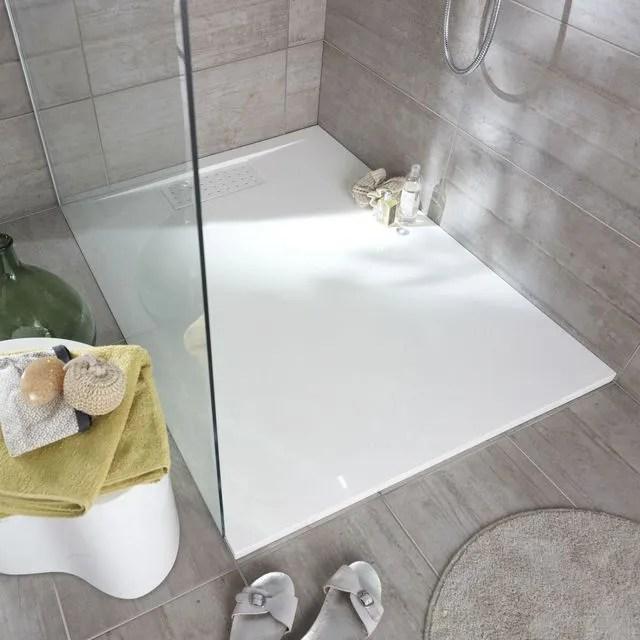 douche avec receveur extra plat quel