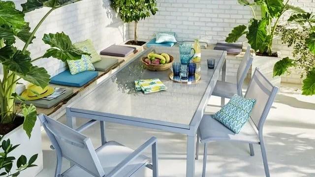 table rallonge jardin modeles
