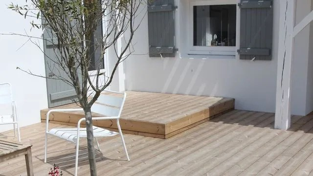Terrasse Bois Et Bois Composite Cote Maison