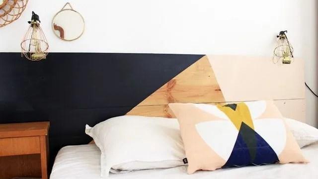 deco chambre diy tete de lit cote