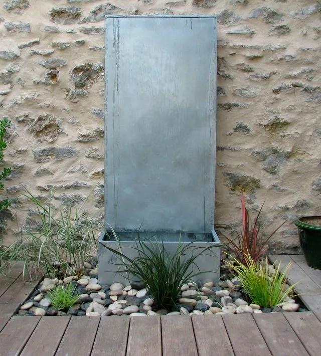 Des Fontaines Et Cascades Pour Le Jardin Cote Maison