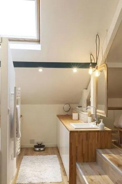 Petite Salle De Bain Optimisee Inspiration Coup De Coeur Cote Maison