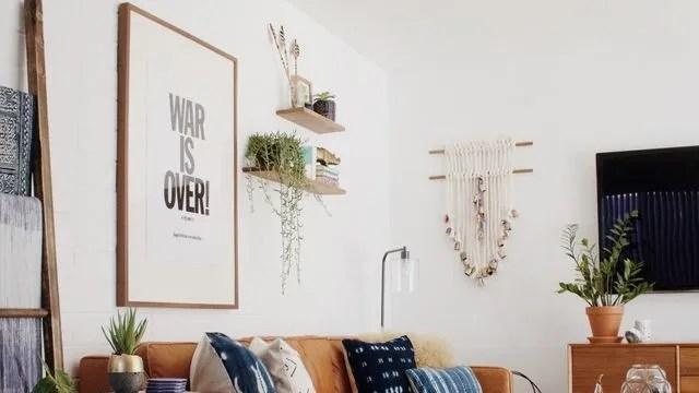deco murale 8 idees futees pour personnaliser le salon