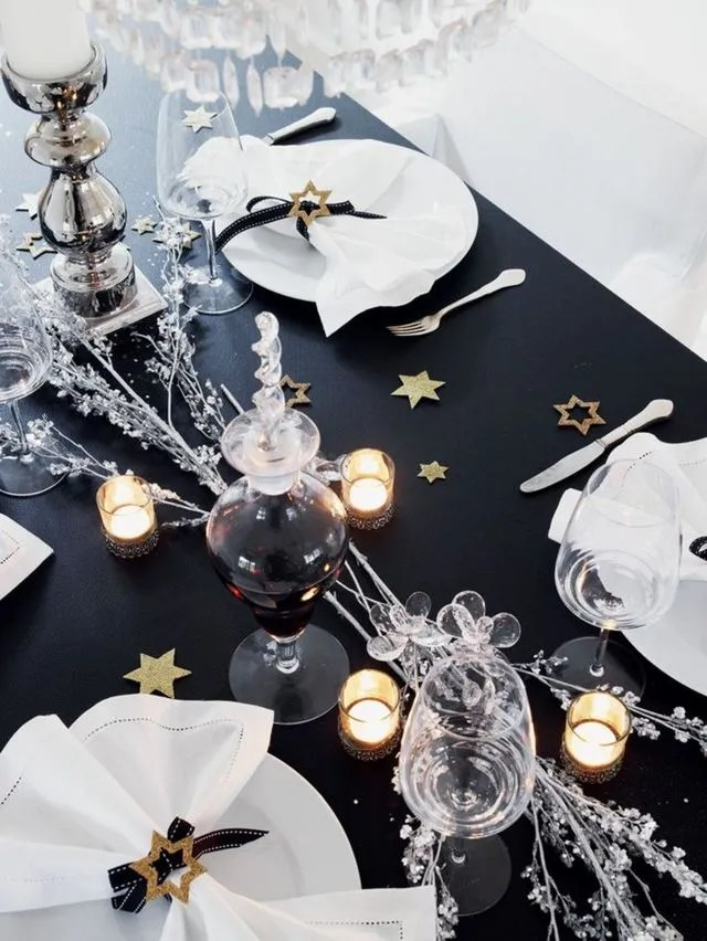 deco table nouvel an 8 decorations de
