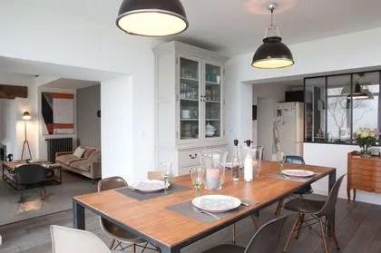 agrandir une cuisine ouverte sur la salle a manger dans une extension
