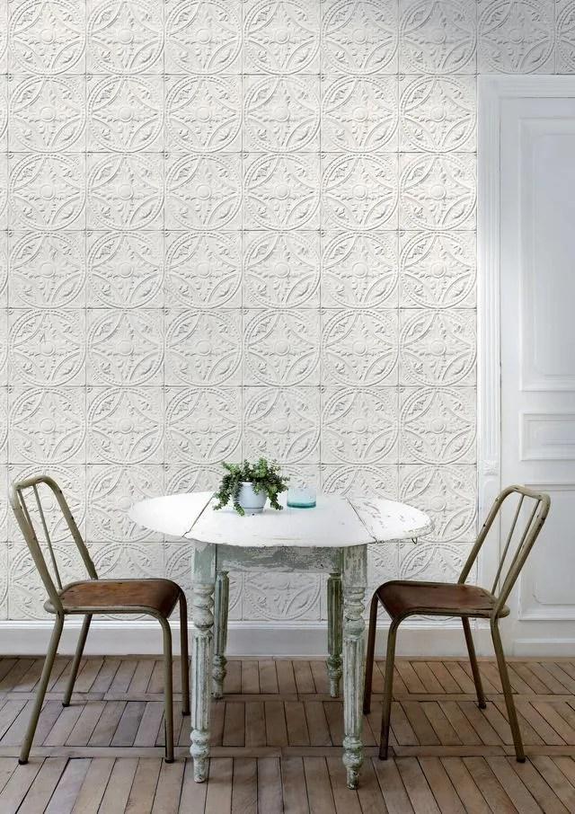 4 murs peinture papier peint