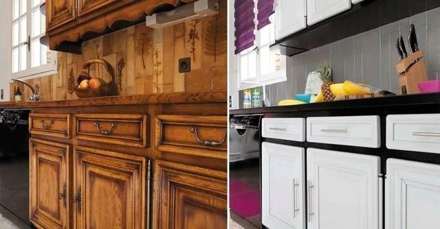 Relooking Cuisine Facile Repeindre Les Meubles Credences Sol Electromenager Cote Maison