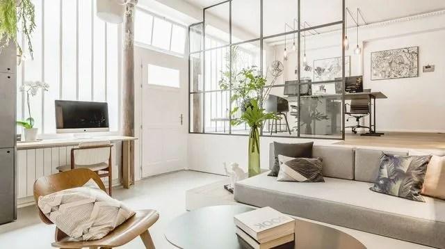 30 idees a piquer pour un salon contemporain