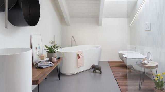baignoire balneo d angle douche ilot