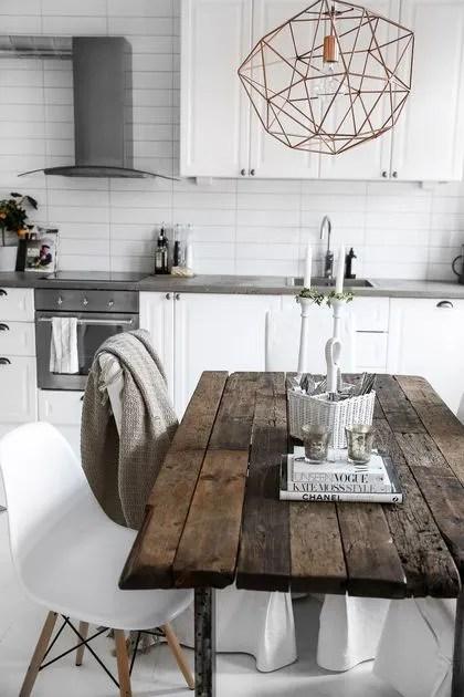 salle a manger des tables en bois