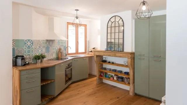 renovation cuisine rustique avec