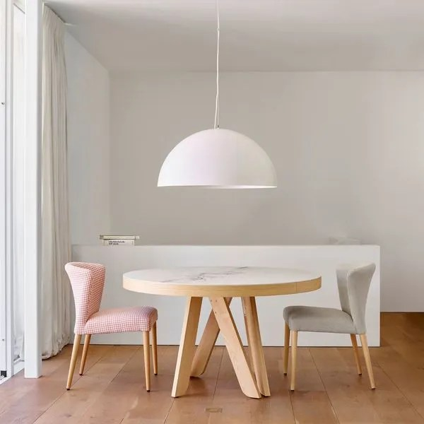 table extensible cote maison