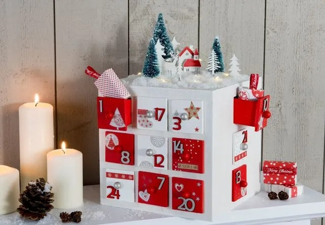 Calendrier Avent 2017 Noel 10 Calendriers Dco Ct Maison
