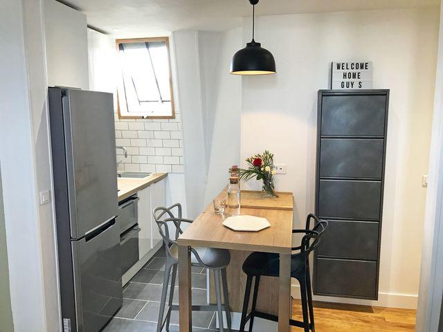avant apres petite cuisine de 2 m2