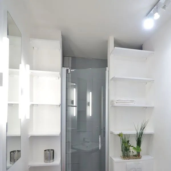 Salle De Bains Avec WC Ct Maison