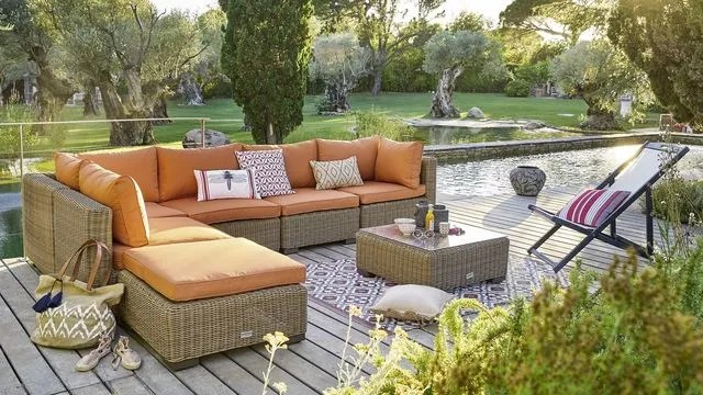 deco exterieure meubles de jardin
