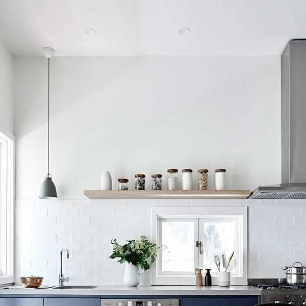 cuisine sans meuble haut cote maison