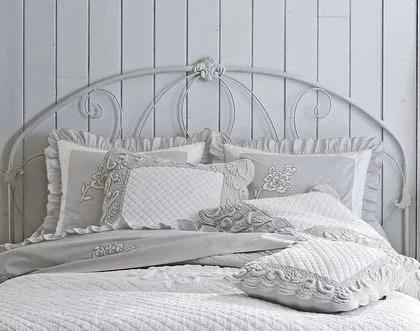 agrandir une tete de lit en fer forge pour chambre romantique