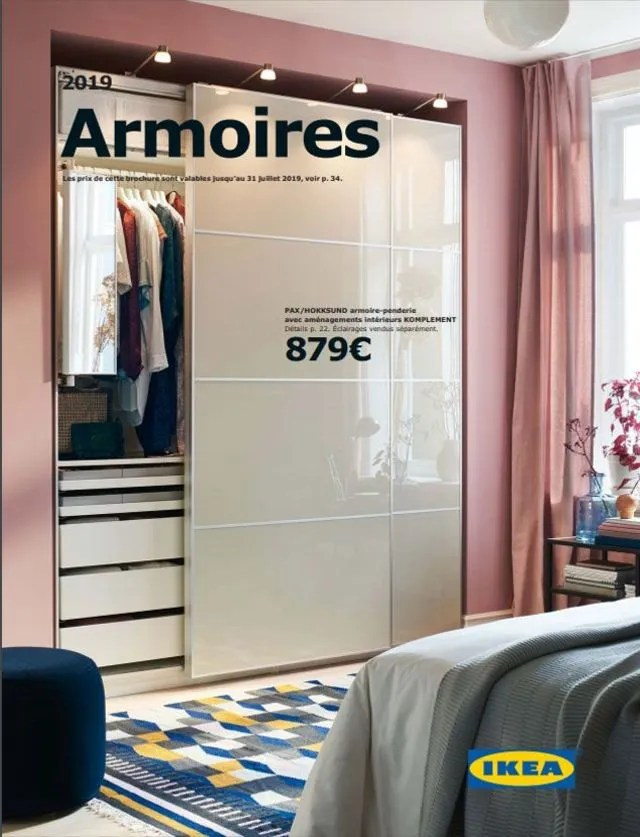 Catalogue Armoires Et Dressings Ikea 2019 Rangements