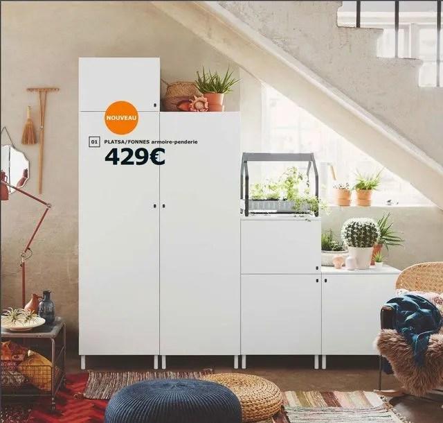 Catalogue Armoires Et Dressings Ikea 2019 Rangements