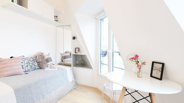 avant apres 9 m2 pour une chambre de bonne tout confort