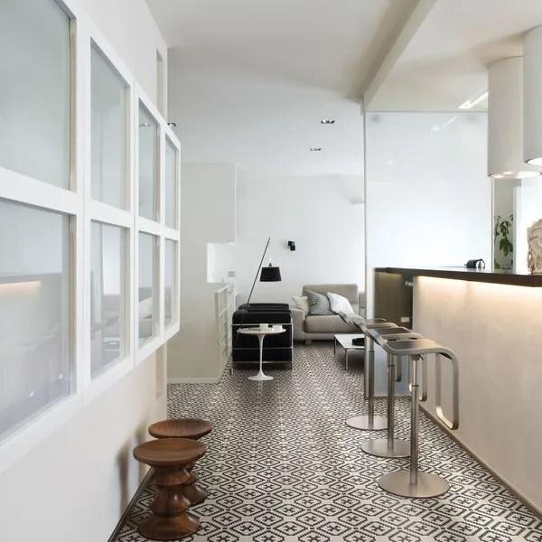 carrelage cuisine sol et mur 20