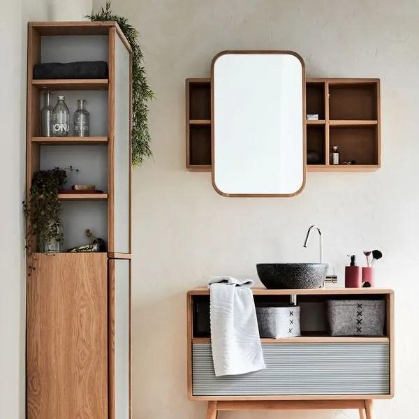 armoire de toilette rangement de