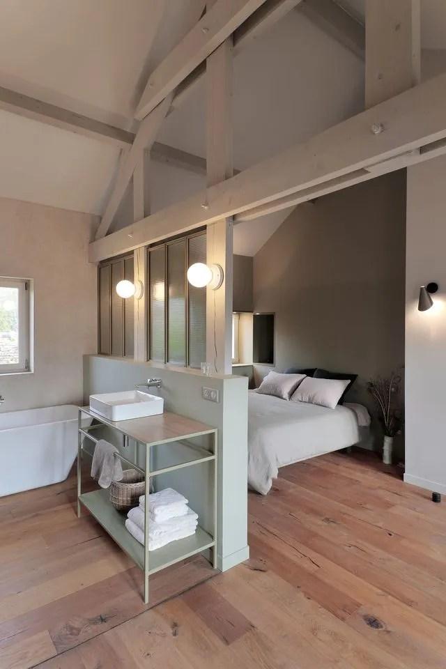 Suite Parentale Idees Deco Pour Decorer Sa Chambre Avec Salle De Bains Cote Maison