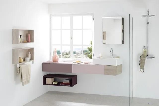 meuble salle bain bois design ikea