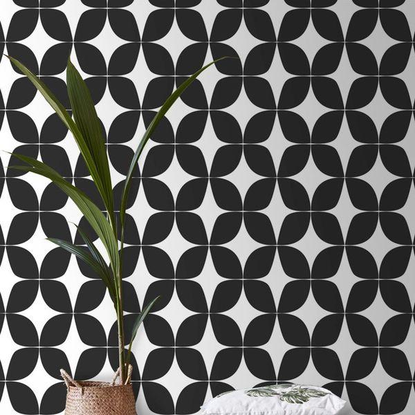 papier peint noir et blanc nouveaux
