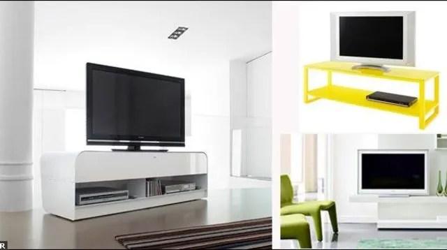Meuble Tv Meuble Tl Dco Salon Avec Tl Ct Maison