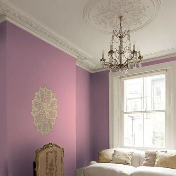 Nouveauts Peinture Du Rose Et Du Violet Pour Une Dco