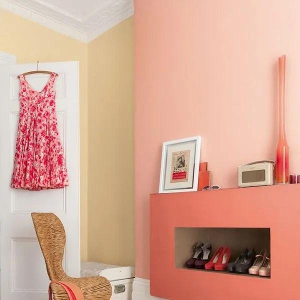 Nouveautes Peinture Du Rose Et Du Violet Pour Une Deco Fashion Cote Maison