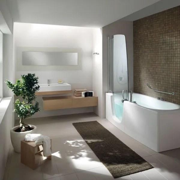 agrandir bain et douche un spa dans la salle de bains