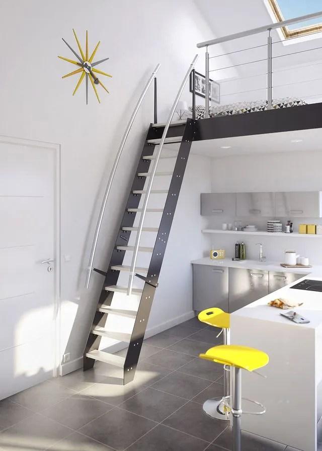 Solution Gain De Place Escaliers Echelles De Meunier Lapeyre Cote Maison