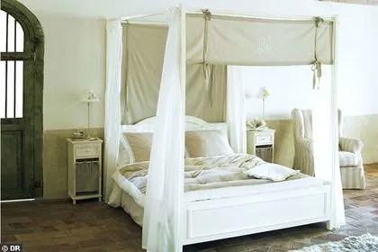 agrandir un grand lit romantique a mini prix