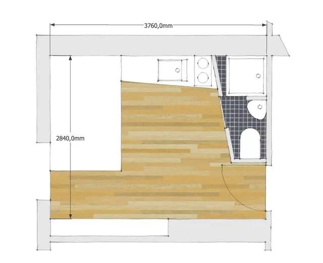 Amenagement Studio Paris 10m2 Fonctionnels Cote Maison