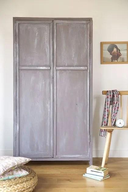 Relooking Meuble Repeindre Et Patiner Une Vieille Armoire Cote Maison